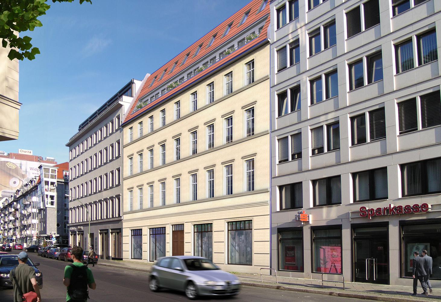 Luisenstr. 45 - StraßenansichtAussenansicht