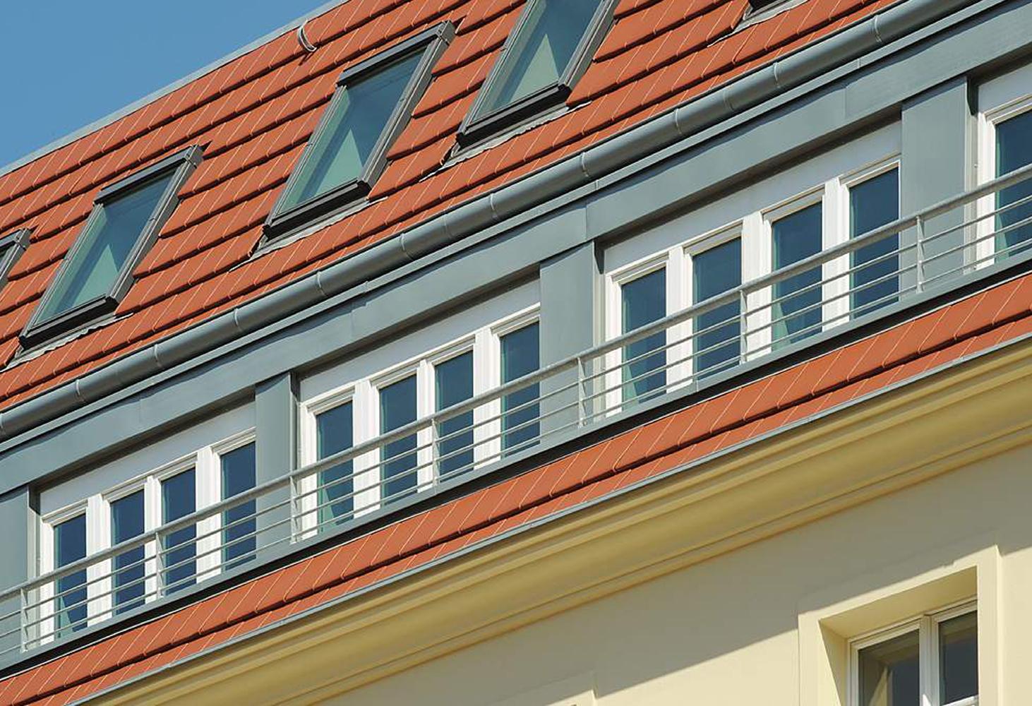 Luisenstr. 45 - Detail Straßenansicht