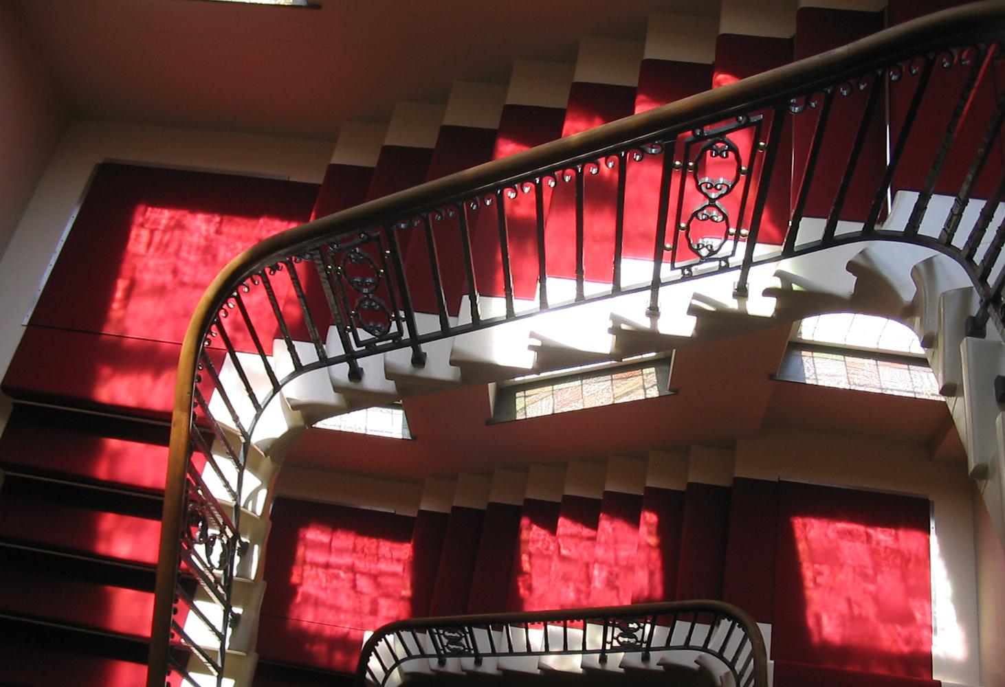 BG Bau - Treppe Detail (© K+A GmbH)
