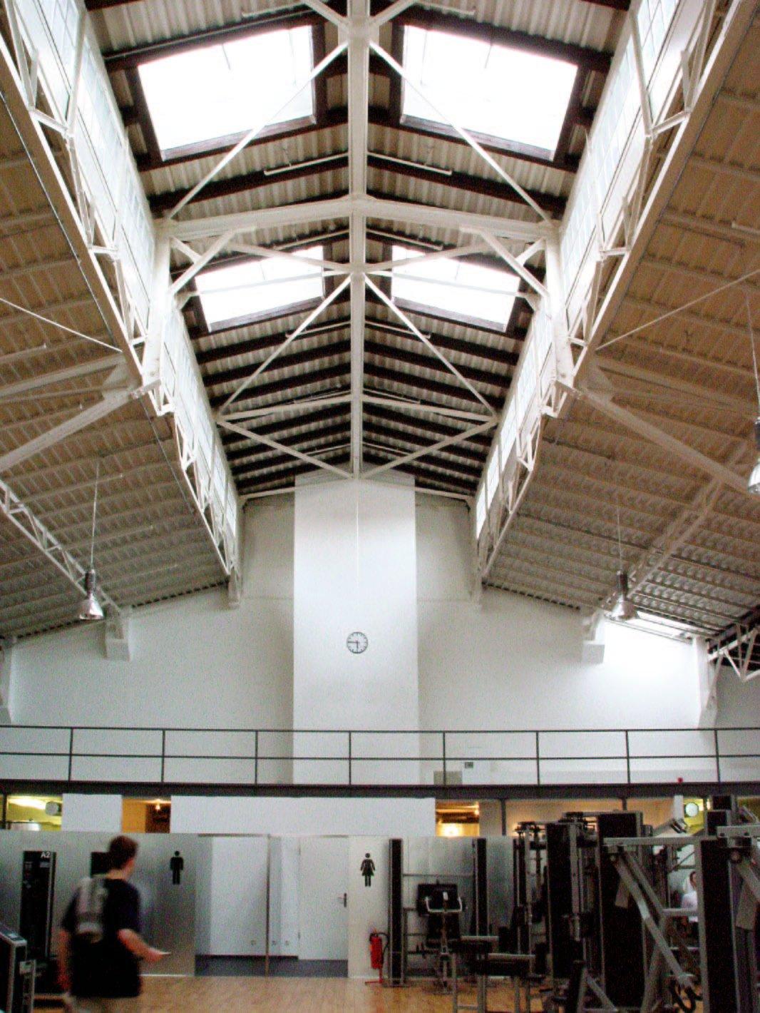 BVG Betriebsbahnhof - Innenhalle