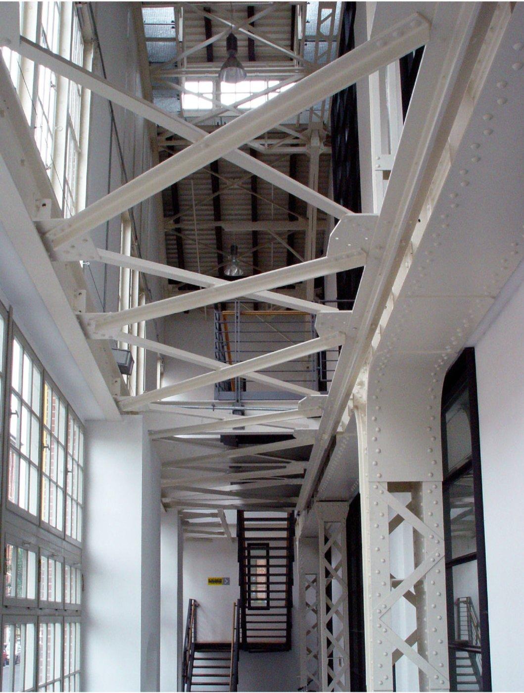 BVG Betriebsbahnhof - Zugang Luftraum