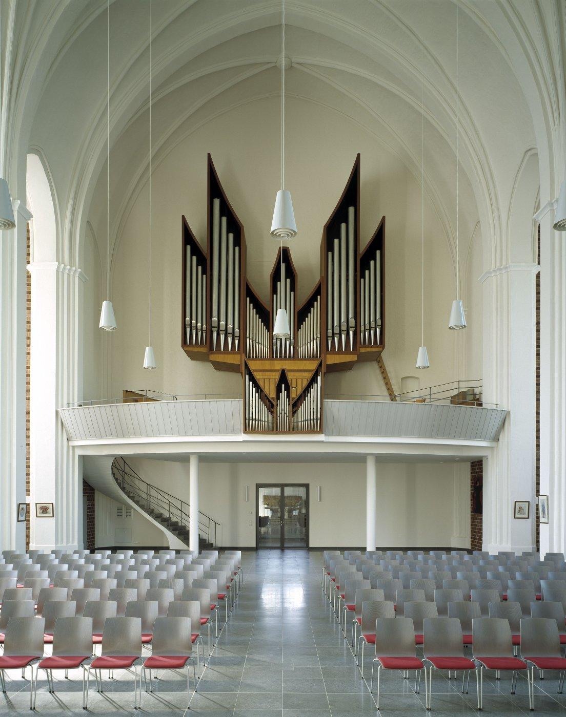Heilandskirche Orgel (© C.Gahl)