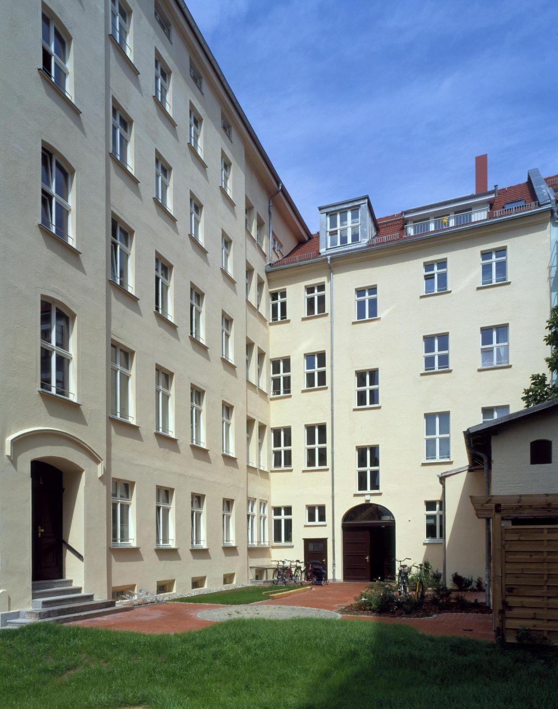 Marienstr.45 Hof (© A. Wagenzik)