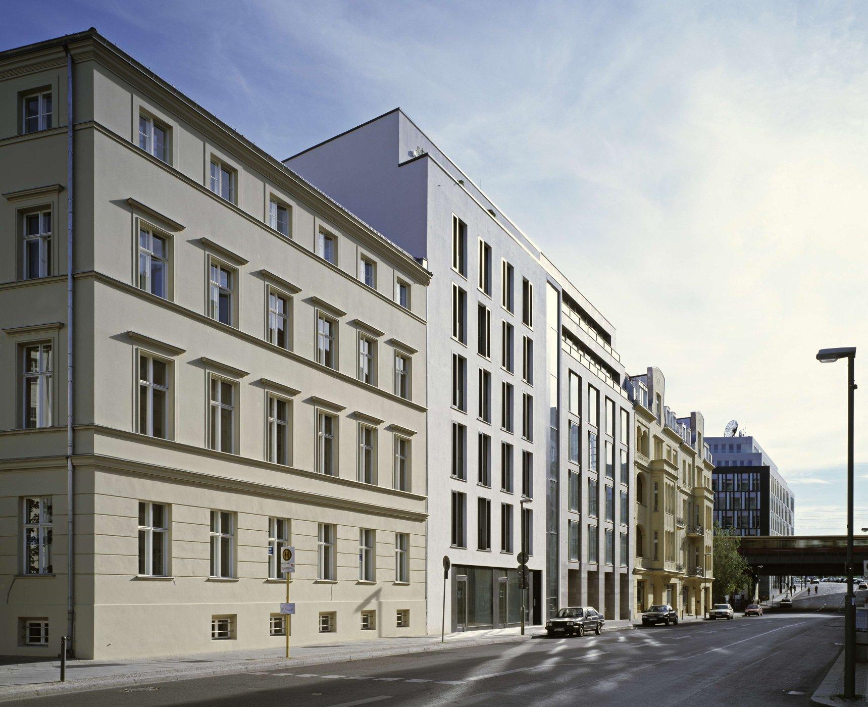 Ansicht Reinhardtstraße(© C. Gahl)