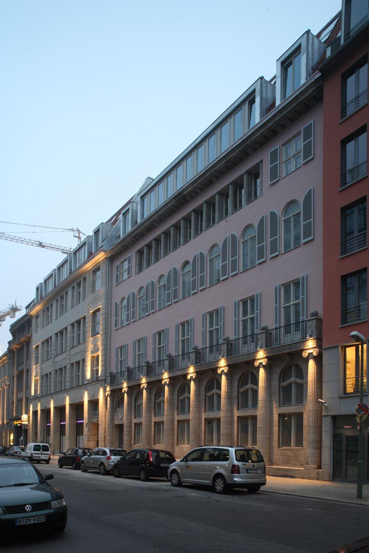 Unter den Linden 26-30 - Fassade Mittelstr  (© J. Hohmuth)