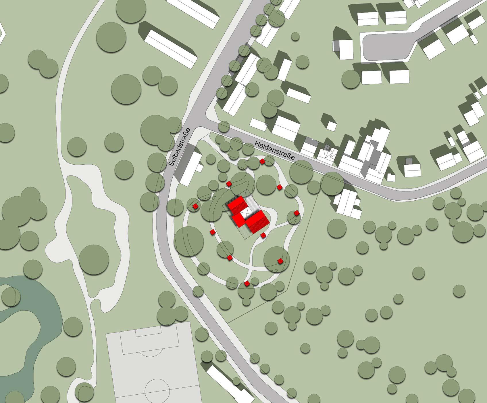 Kultur Zeche, Altstaden 1 - Lageplan, Oberhausen