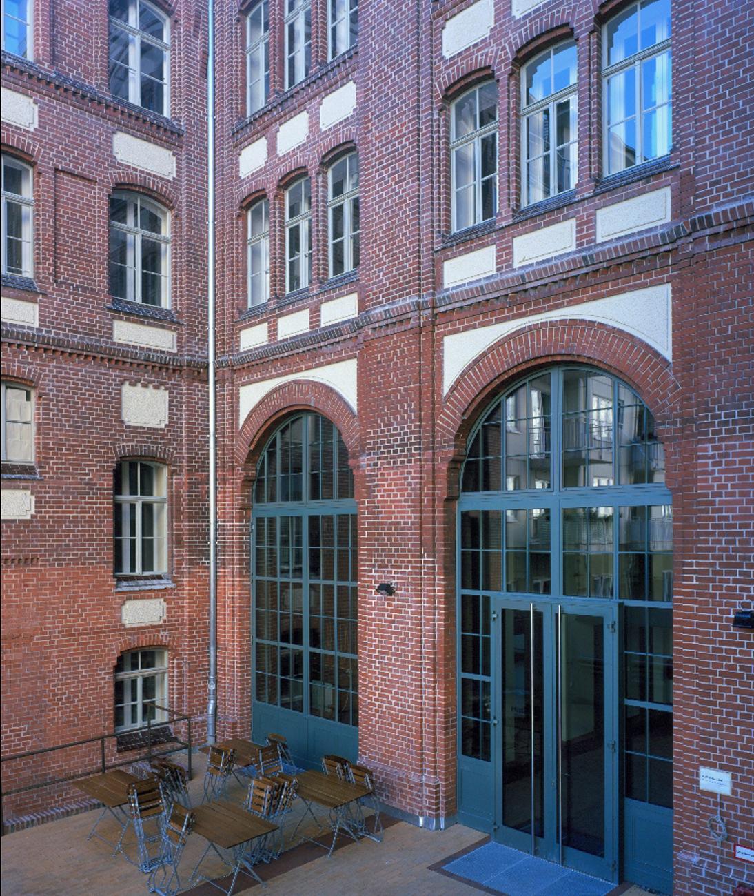 Umspannwerk Ost - Hof (© A. Wagenzik)