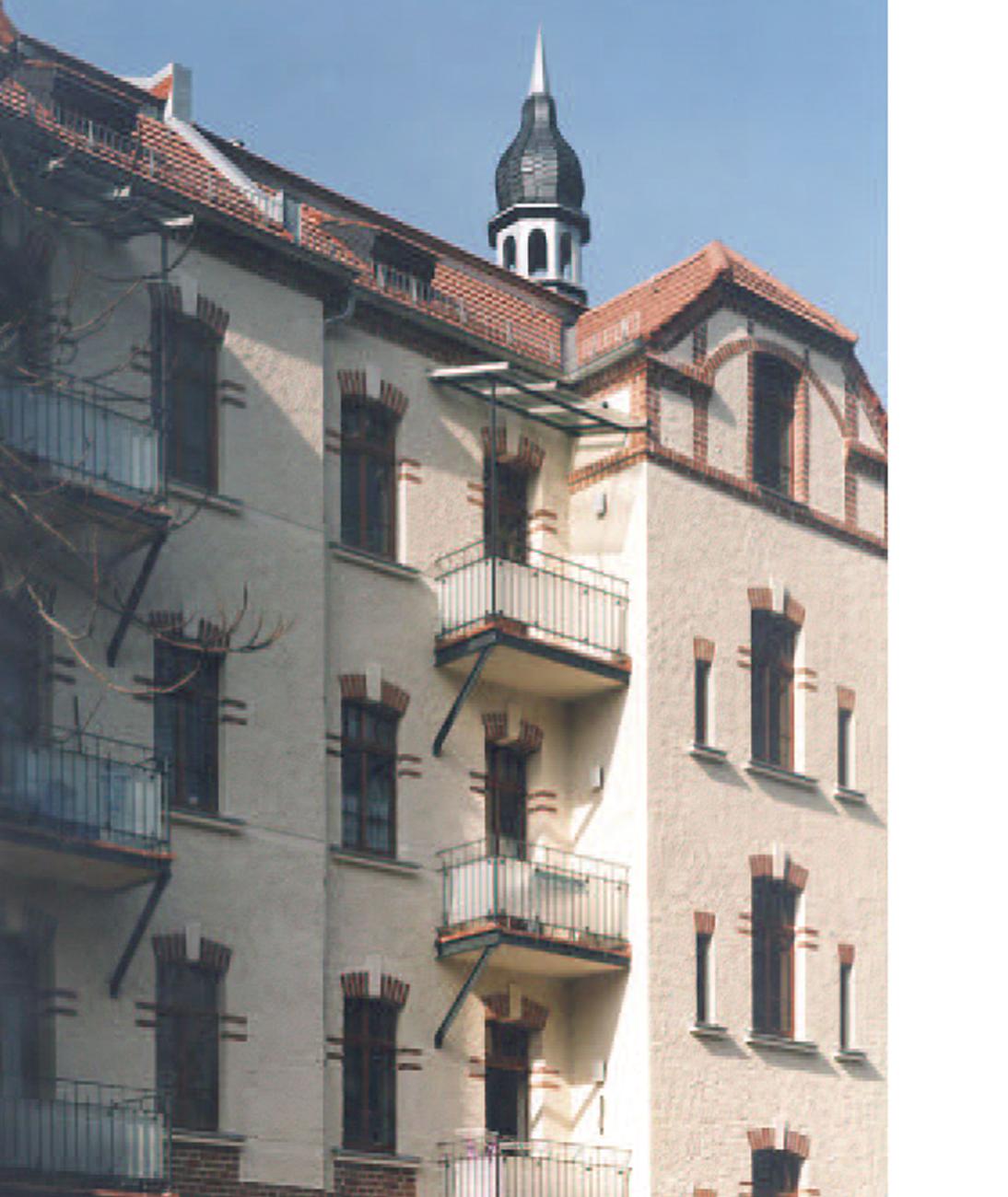 Meyer'sche Häuser - Fassade © M. Kluge