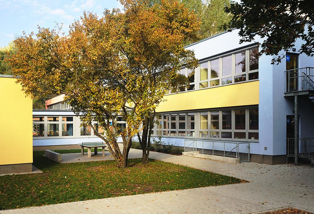 Amtsfeld Grundschule, Berlin Köpenick - Hof 1 © Kwiatosz