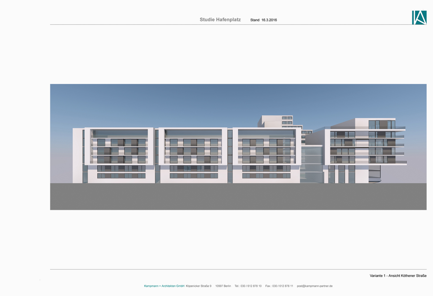 Entwurf Kampmann+Architekten GmbH